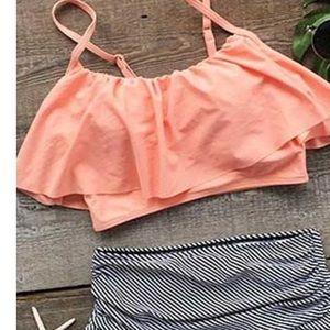 400bff78627a2 Swim - Cupshe Seaside Gale high waisted bikini